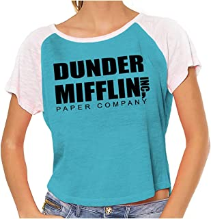 Dunder Paper Company Mifflin Office TV Show Vintage T Shirts