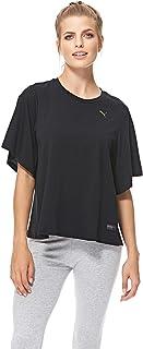 Puma FUSION Fashion Tee For Women, Size XL Black