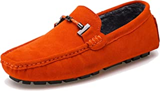 MINITOO Homme Classic Suede Mocassins D'été Penny Loafers Chaussures YY2088