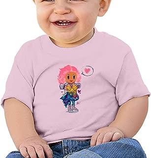 ZZFfoushionB Classic Baby T-Shirt Short Sleeve with Nicki-Minaj Love You