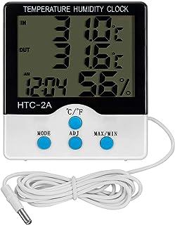 XYXZ Medidor De Humedad De Temperatura De Entrada Y Salida De Habitación Digital Electrónico Termómetro Higrómetro Termohi...