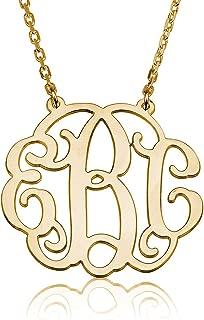 1.25 monogram necklace