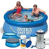 Intex Easy Set Kit piscine 8en 128112Ø 244x 76cm