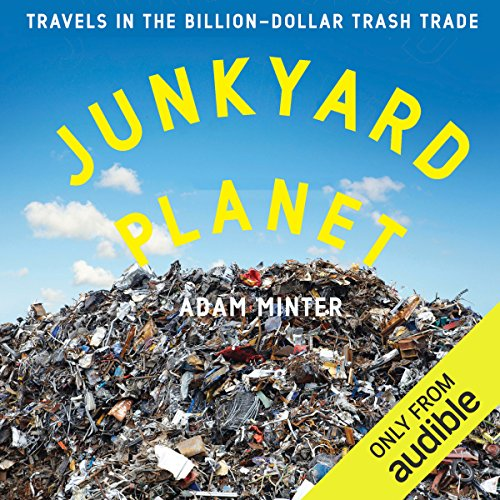 Junkyard Planet audiobook cover art