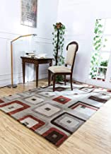 Jaipur Rugs Modern Blue 5X8 Feet Wool and Viscose Abstract Rug and Carpet