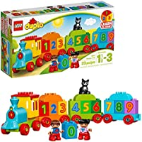 LEGO DUPLO My First Number Train 10847 Learning and Counting Train Set Building Kit and Educational Toy for 1 1/2-3 Year...