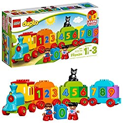 numbers train pretend play toy