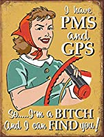 PmsとGpsがあります 金属板ブリキ看板警告サイン注意サイン表示パネル情報サイン金属安全サイン