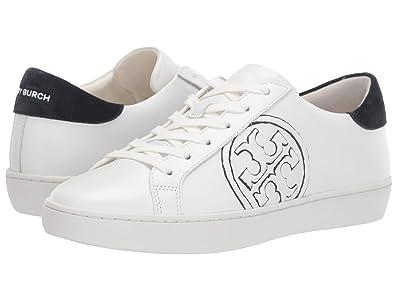 Tory Burch T-Logo Sneaker (Snow White/Navy) Women