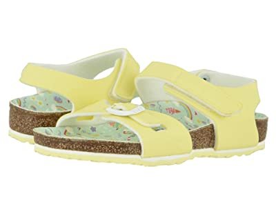 Birkenstock Kids Colorado (Toddler/Little Kid/Big Kid) (Candy Pastel Yellow Birko-Flortm) Girl