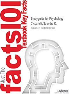 Studyguide for Psychology by Ciccarelli, Saundra K., ISBN 9780133869811