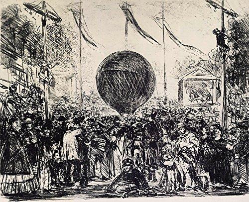Het Museum Outlet - De Ballon door Manet - Poster Print Online kopen (40 X 50 Inch)