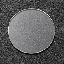 20.5mm x 1.6mm Glass Lens Flashlight Accessories for Convoy S2/S2+/S3/S6/S8 Flashlight