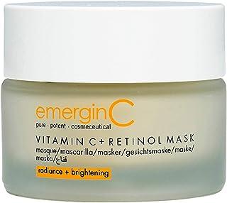 emerginC Vitamin C + Retinol Mask - Exfoliating Kaolin Clay Face Mask to Help Brighten The Complexion (1.7 Ounces, 50 Mill...