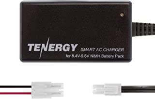 TenergySmart Chargerfor 8.4V-9.6V NiMH Battery Packs,NiMH Battery Charger for Airsoft Guns, RC Cars, RC Airplanes with Mini Tamiya/Standard Tamiya Connector