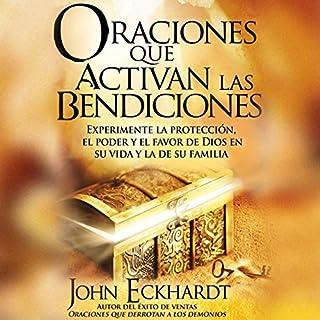 Oraciones Que Activan las Bendiciones [Prayers That Activate Blessings] audiobook cover art