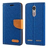 Lenovo Vibe K6 Case, Oxford Leather Wallet Case with Soft