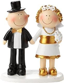Goldene Hochzeit Goldhochzeit Jubiläumspaar 50 Jahre  Tortendekoration  Tortenfigur  Tischdekoration