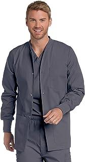 Landau Men's Warm-up Scrub Jackets Medical Shirt