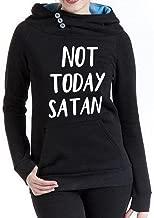 Rui-En Women's New Not Today Satan Hoodie