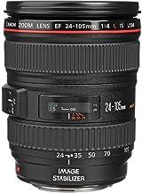 Canon EF 24-105mm f/4 L IS USM Lens for Canon EOS SLR Cameras - White Box (Bulk Packaging)
