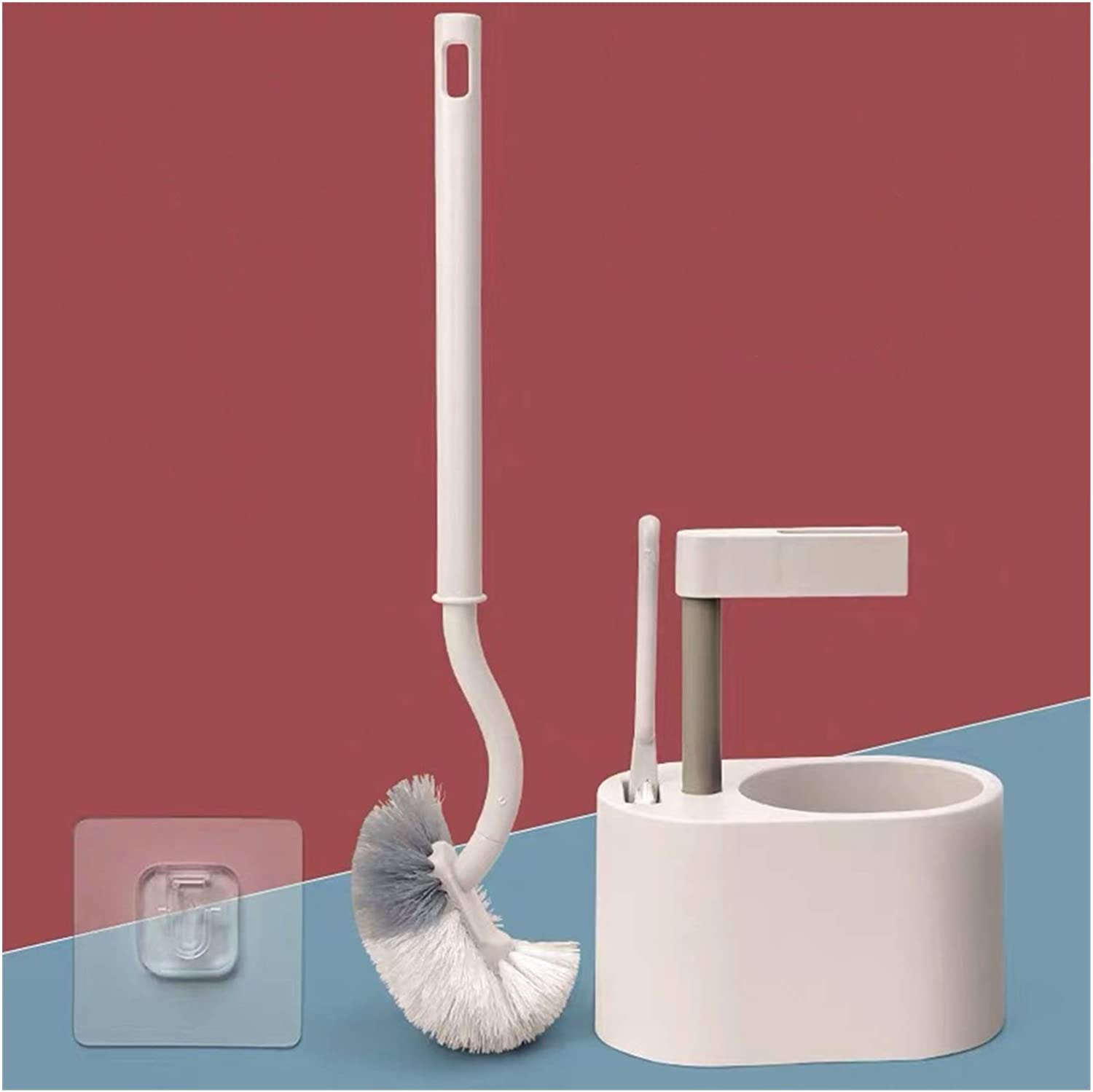 GLADMIN Toilet 2021 spring and summer new Brush Spasm price Dead Corner Plastic Curved Side Cleaning Br