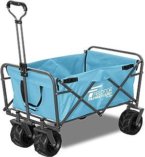 FIELDOOR ワイルドマルチキャリー 【タフ】 耐荷重150kg 折りたたみ式多用途キャリーカート アウトドア キャンプ レジャー