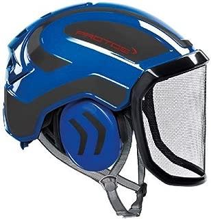 Pfanner Protos Integral Arborist Helmet (Blue & Grey)