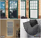 VViViD White Perforated Vinyl Window Film to Prevent Bird Strike (54 inches x 60 inches)