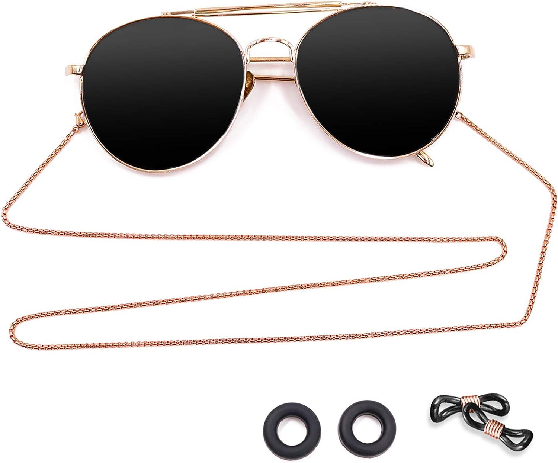 Eyeglass Chain - Kalevel Stainless Steel Sunglass Strap Eyeglass Strap Holder