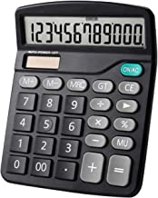 $37 » Z-Color Multifunctional Electronic Calculator Portable Office Commercial Tool Battery Solar 2 in 1 Powered 12 Digit with B...