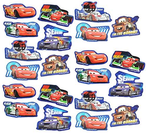 alles-meine.de GmbH 21 TLG. Set _ Aufkleber / Sticker -  Disney Cars Lightning McQueen  - selbstklebend - für Jungen & Mädchen / Erwachsene - Stickerset Kinder - z.B. für Stick..