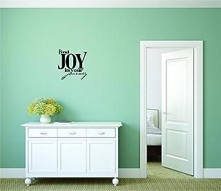 بتصميم من الفينيل moti 21291صورة ملصقة–ملصقات جدارية لاصقة الخاصة بك: تجد Joy في رحلة بالنص المكتوب عليه الحروف Life ا...