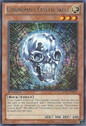 Yu-Gi-Oh! - Chronomaly Crystal Skull (REDU-EN013) - Return of The Duelist - 1st Edition - Rare