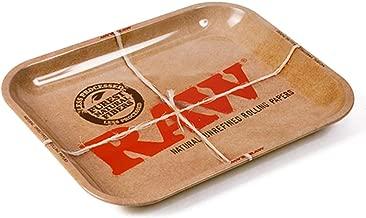 Raw Metal Rolling Tray XXL Large (Xtra Xtra Large) 20 x 15 Inch