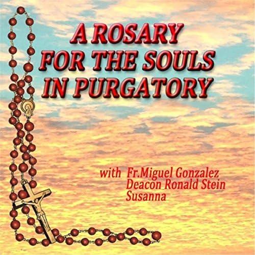Fr Miguel Gonzalez, Deacon Ronald Stein & Susanna