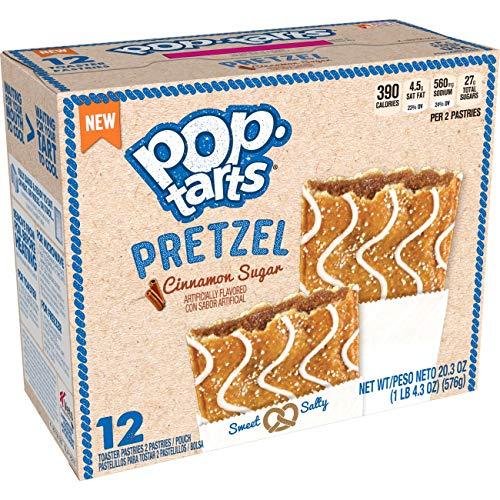 Pop Tarts Pretzel Cinnamon Sugar (1 Box of 12 pastries)