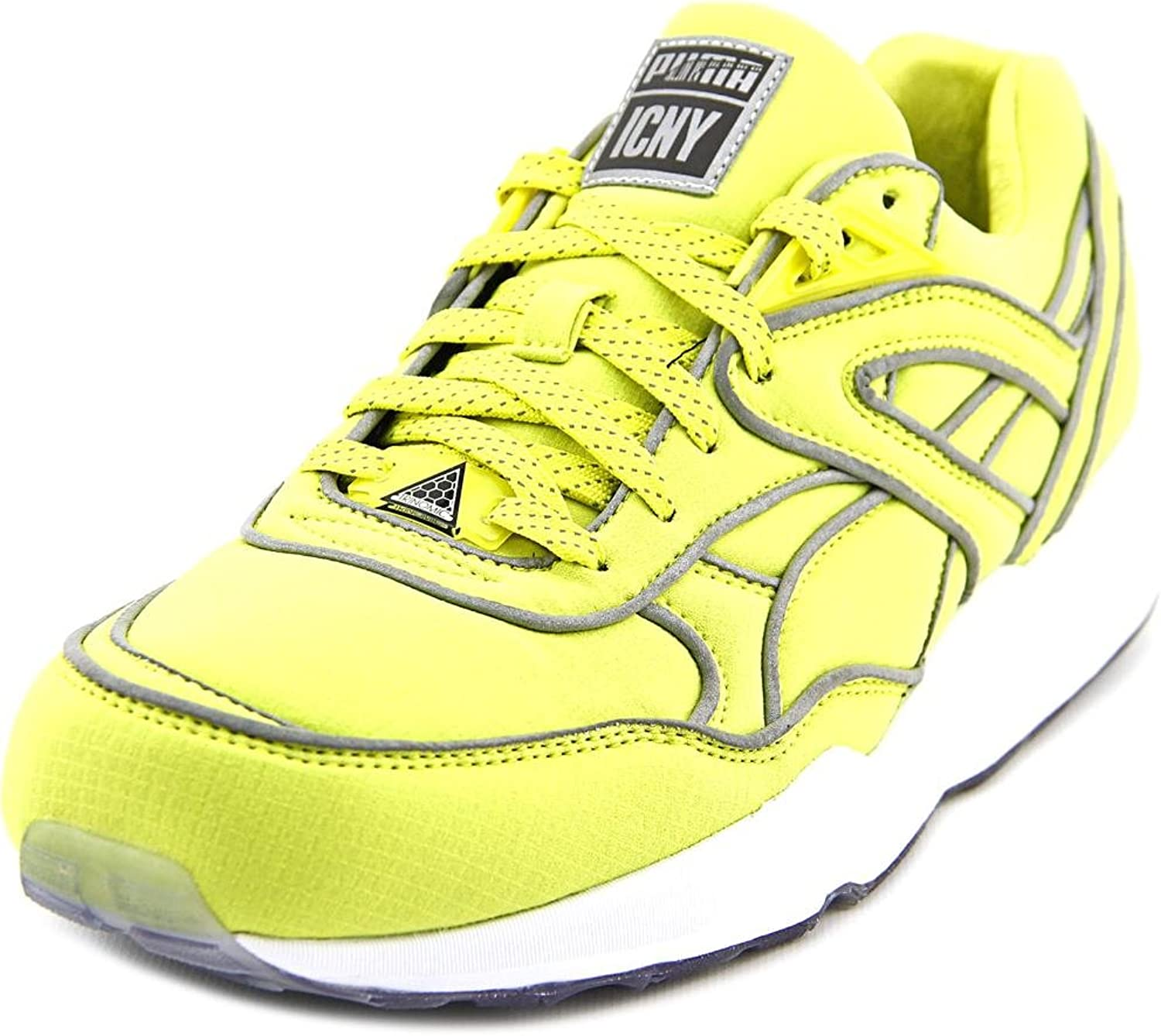 Puma Trinomic R698 x ICNY Men US 9 Yellow Running shoes