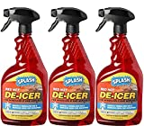 SPLASH 073926346323 De-icer Windshield Trigger Spray, 96. Fluid_Ounces, 3 Pack