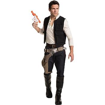 Star Wars - Disfraz de Han Solo Grand Heritage para hombre, Talla ...