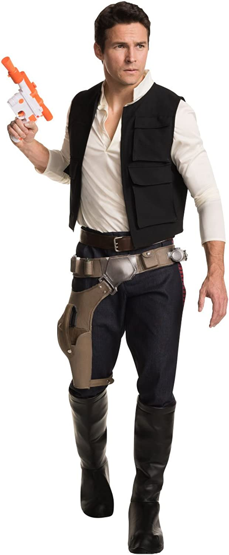 Rubies Costume Men's Classic Star Wars Grand Heritage Han Solo Costume
