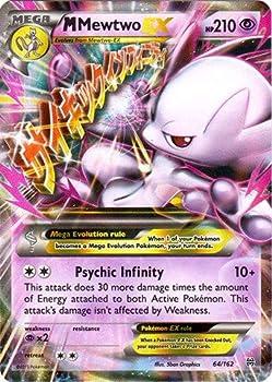 Pokemon - Mega-Mewtwo-EX  64/162  - XY Breakthrough - Holo