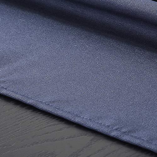 Alle soorten Katoen en Linnen Effen Kleur Waterdicht Tafelkleed Groothandel Direct Sales Tafelkleed Bruiloft Party Decoratie 137 * 183cm Marineblauw