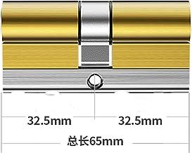 Deur vatslot 8-track Volledige koperen slotkern C-klasse 36 Tooth Lock Cilinder Dubbelzijdige beveiligingsdeur Core W 8-sl...