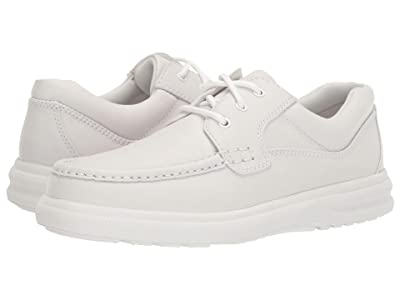 Hush Puppies Gus (White Leather) Men