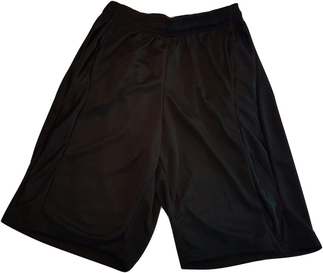 Buffalo Outdoors Mens Mesh Athletic Short with Pocket