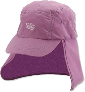 "Panama Jack Kids Beach Hat - Lightweight, Packable, Adjustable Shock Cord, 2 1/2"" Wide Brim with Sun Protection Neck Flap"
