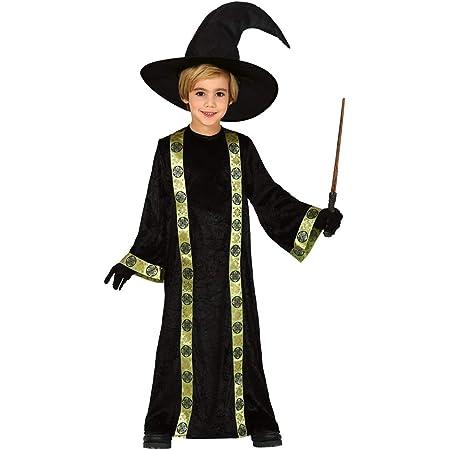 Zauberlehrling Kostüm Kinder Magie Magier Zauberer Kinderkostüm