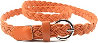 Surprise S 16Color Hot Fashion Vintage Womens Braided Belt Candy Colors Hemp Rope Braid For Female