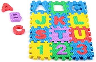 ColorBaby Alfombra Puzzle Goma eva Letrasnúmeros, 6